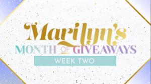 Marilyn Denis Season 11 Month of Giveaways Week 2 – Win 1 of 3 prize packs worth over $1800 at www.marilyn.ca