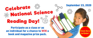 Owlkids National Science Reading Day  – Win a share of $3,000 in books and prizes