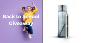 Santevia Back to School Giveaway – Win a Power Stick Water Bottle Filter and a Tritan Water Bottle