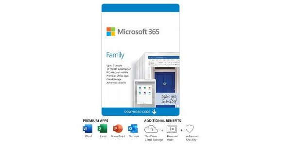Whats Your Tech  – Win a One Year Subscription to Microsoft Office 365 Family