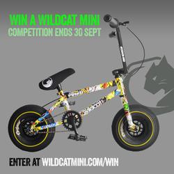 Wildcat – Win a Wildcat Mini BMX bike (Gleam 13+)