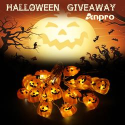 Win Anpro Halloween Pumpkin Fairy Lights (Gleam) Contest