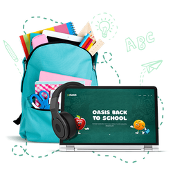 Win Oasis electronic package for a virtual Back to school Contest