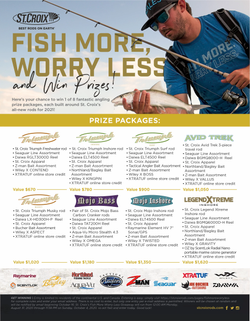 Win St Croix Fish More Worry Less (Gleam 18+) Contest