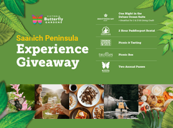 Win Victoria Butterfly Gardens Saanich Peninsula Experience (Vancouver Island residents 19+) Contest
