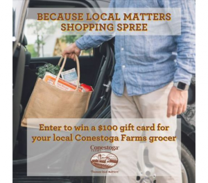 Conestoga Farms Eggs Giveaway – Win 1 of 5 $100 gift cards