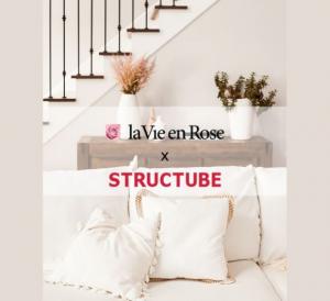 La Vie en Rose  – Win a $100 La Vie en Rose's giftcard and a $100 Structube giftcard