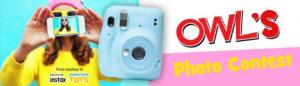 Owl's Photo  – Win a Fujifilm Instax Mini 11 camera