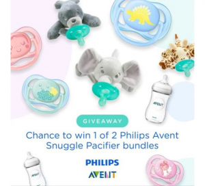 Parent Life Network  – Win 1 of 2 Philips Avent Snuggle Pacifier Bundles