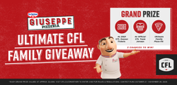 Win Dr Oetker Giuseppe Ultimate CFL Giveaway