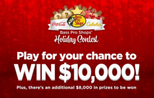 Bass Pro Shops Holiday 2020 – Win $10,000 cash and more at bpsholidaycontest.com