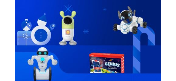Best Buy Holiday Toy  – Win 1 of 15 prizes including smart toys and robots