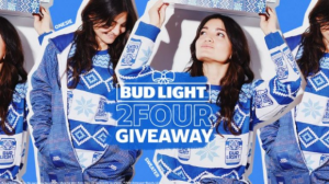 Bud Light 2FOUR  – Win 1 of 5 Bud Light Holiday Collections