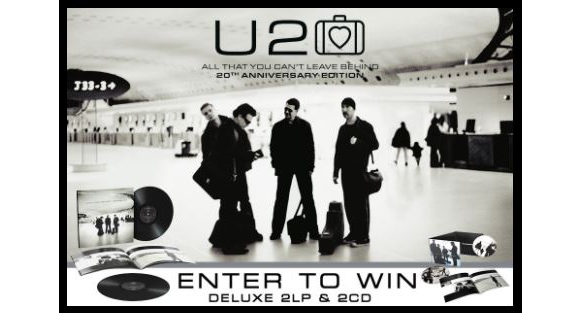Exclaim  – Win an 'All That You Can't Leave Behind' (20th Anniversary) Prize Pack
