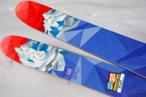 Freeskier Giveaway – Win custom Michelob Ultra x Lib Tech skis