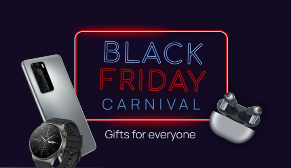 Huawei Black Friday Carnival  – Win 1 of 80+ Huawei devices including P40 Pro, Watch GT 2 Pro, FreeBuds Pro and more