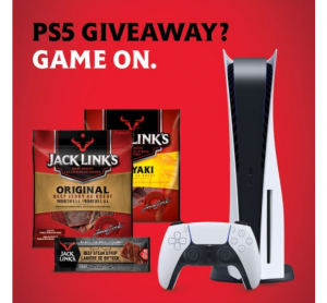 Jack Link's PS5 Giveaway – Win a PlayStation 5 and a month's supply of jerky