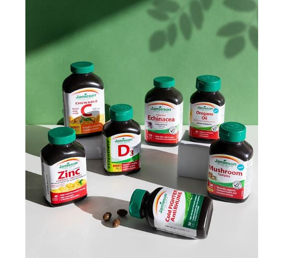 Jamieson Vitamins  – Win a $200 prize pack including top immune health products