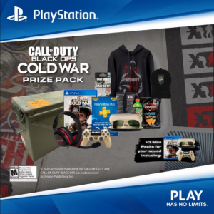 Playstation Canada  – Win a Call of Duty Black Ops Cold War prize worth more than $1,000