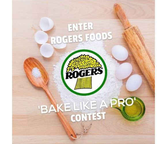 Rogers Foods Bake Like a Pro  – Win 1 of 15 prize packages