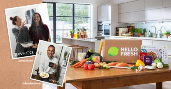 RW&CO HelloFresh  – Win 6 months of HelloFresh meal kits and a $2,000 RW&CO.gift card