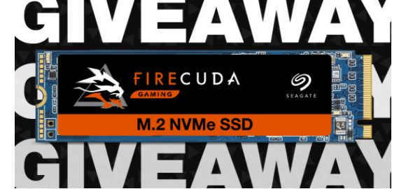 Seagate Gaming Holiday 2020 – Win a FireCuda 510