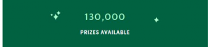Starbucks for Life Promotion 2020 Holiday Edition – Win 1 of 130,000 prizes at starbucksforlife.ca