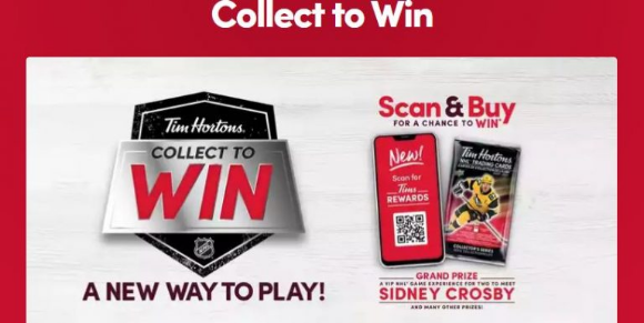 Tim Hortons Collect to Win 2020 Promotion – Win trips to the Stanley Cup Finals and more