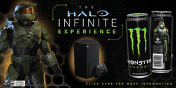 Win Monster Energy Halo Infinite Experience TEXT to ENTER Contest
