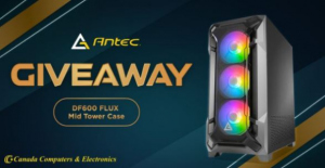 Canada Computers Giveaway – Win an Antec DF600 FLUX Mid-Tower Case