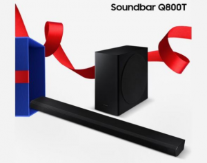 Samsung Canada Holiday  – Win a Soundbar Q800T valued at $1,099