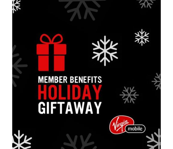 Virgin Mobile Member Benefits Holiday Giftaway – Win 1 of 5 $1000 Sport Chek gift cards and more