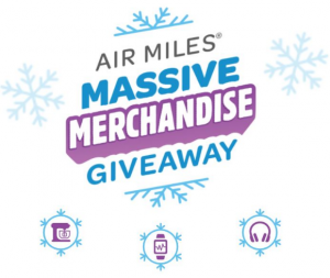 Air Miles Massive Merchandise Giveaway – Win up to 100,000 Reward Miles and more