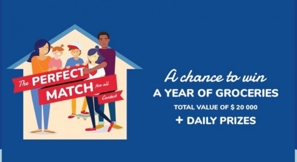 POM Perfect Match 2021 – Win a year of groceries and more at concourslematchparfait.ca