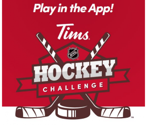Tim Hortons NHL Hockey Challenge 2021 – Play in the app and win prizes