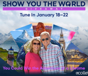 Wheel of Fortune Show you the World Giveaway – Enter the Puzzle Solution and win 1 of 5 adventures