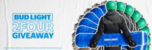 Bud Light 2FOUR February Giveaway – Win a Bud Light snowboard and bindings