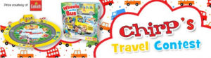 Chirp's Travel 2021 – Win 1 of 3 Wheels on the Bus games