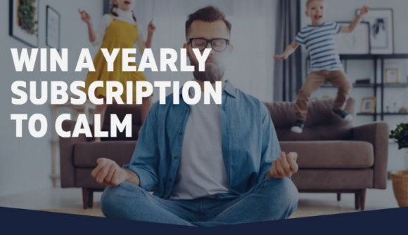 Cold FX  – Win 1 of 60 year-long Calm Subscriptions