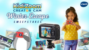 VTech Toys Winter Escape  – Win a KidiZoom Creator Cam