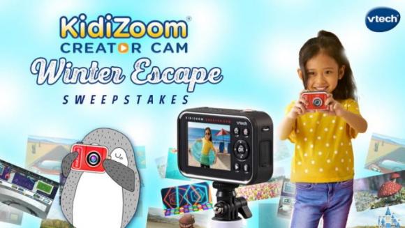 VTech Toys Winter Escape  – Win a KidiZoom Creator Cam