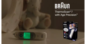 Win a Braun ThermoScan 7 thermometer –