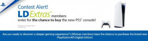 LDExtras PS5  – Win a PlayStation 5 console