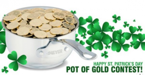 Meyer St Patrick's Day  – Win a 3.1L Meyer Nouvelle saucepan and $500