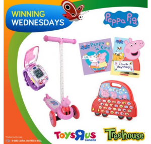 Treehouse  – Win a Peppa Pig Prize Pack