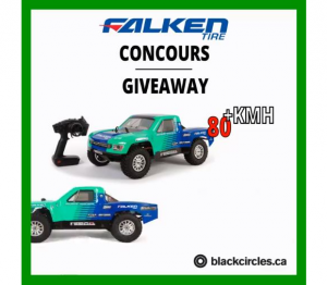 Blackcircles  – Win a Falken remote truck valued at $350