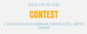 Oasis  – Win a $100 Gift Card at Sports Experts and 3 months of free juice