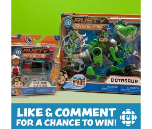 CBC Kids Giveaway – Win a Rusty Rivets prize pack