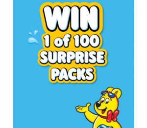 Haribo Summer Promotion 2021 – Win 1 of 100 surprise packs at www.haribo-promo.ca
