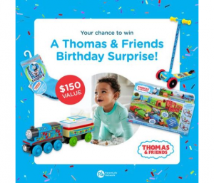 Win $150 worth of Thomas & Friends toys and goodies from Parent Life Network –